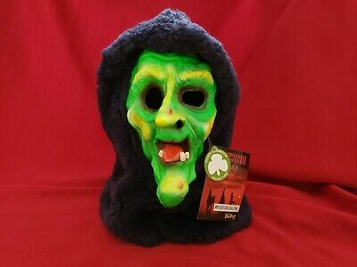 Silver Shamrock Halloween Mask (HALLOWEEN III 3 SEASON OF THE WITCH DON POST GREEN HAGATHA MASK SILVER)