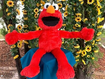 "Sesame Street Big Hugs Elmo Interactive 22"" Soft Cuddly Plush Stuffed Animal Toy"