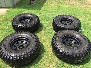 33inch Mudzillas wheels and tyres Inverell Inverell Area Preview