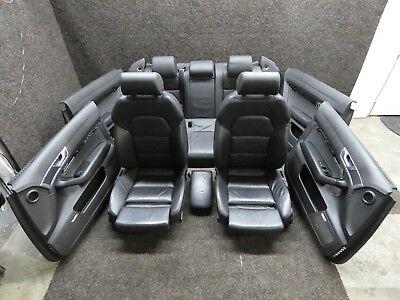 Orig. Audi A6 4F Leather Trim Leather Sportsitze Memory Black Heated Seats