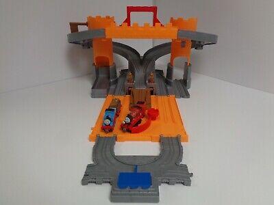 Thomas & Friends Take n Play Adventure Castle Set + Talking James Castle Crest