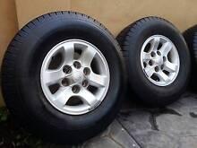 "31"" Toyota Hilux SR5 Alloys and New Nexen Tyres Hamilton Hill Cockburn Area Preview"