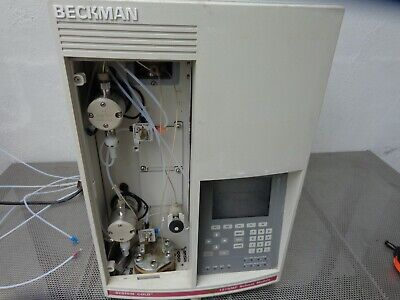 Beckman Solvent Module System Gold 127nmp Solvent Pump Module