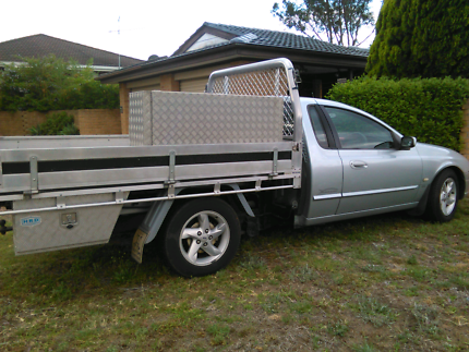 One tonner ford Marlin ute.