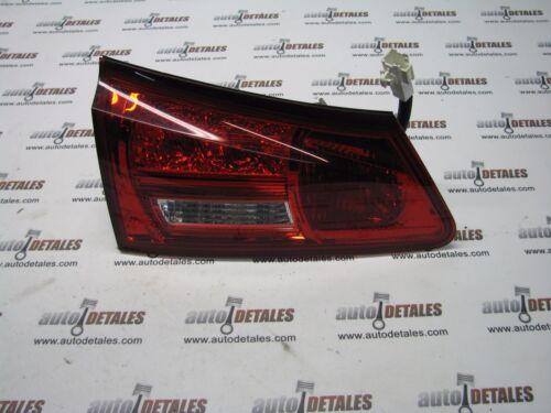 Lexus  IS250 rear tail light inner Left used 2010