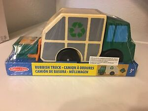 Melissa and Doug Recycling Truck