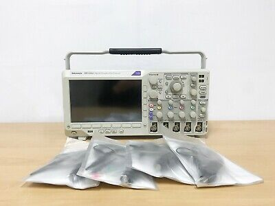 Tektronix Dpo3054 500mhz 2.5gss 4ch Oscilloscope With P6500 Probes