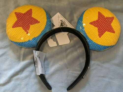 Disney Parks Pixar Toy Story Luxo Ball Ears Headband New