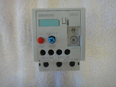 Siemens Overload Relay  3ru1136-4fb0