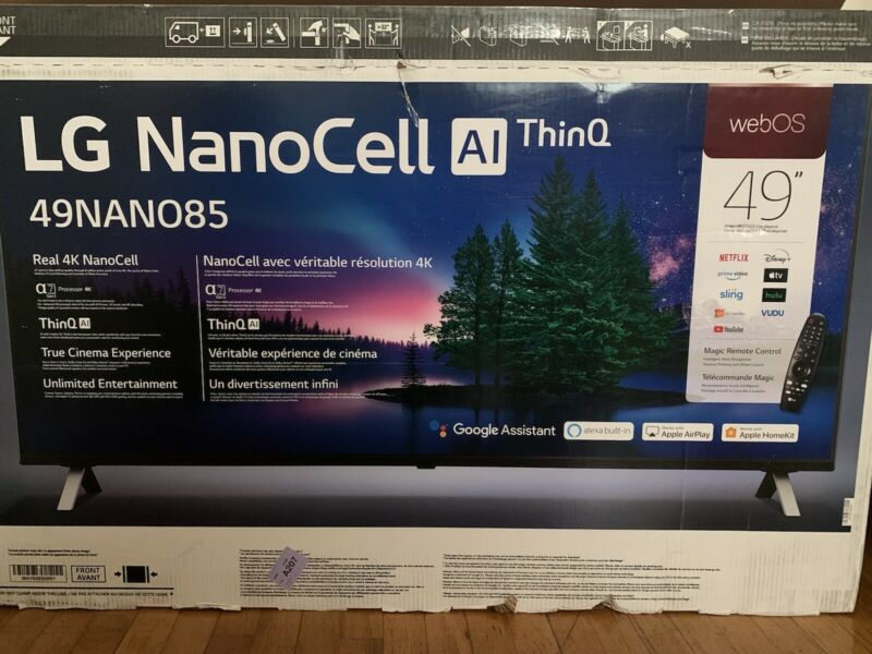 lg nanocell 49 Inch 4k Smart Tv