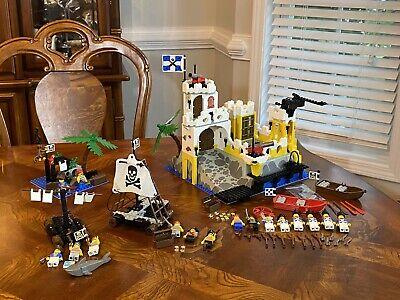 LEGO Vintage Pirate lot 4 SETS 6276 Eldorado Fortress 6260 6261 6257 GREAT CONDI