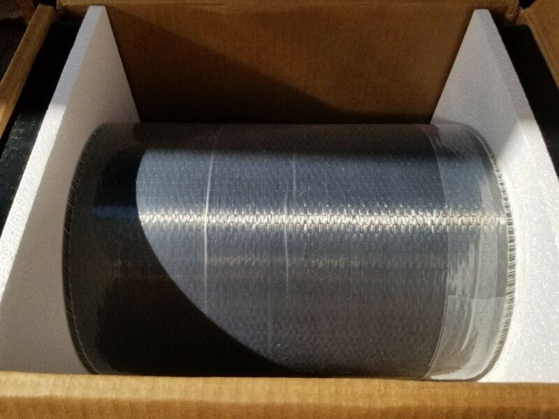 """Carbon Fiber Fabric 12K Carbon 390 GSM 10 oz Plain Weave 12"""" Width 100 Yards NEW"""