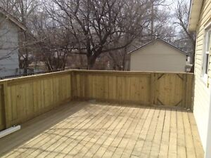 Gorgeous 2 bd modern home with fully fenced yard and garage