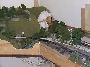 N scale model railway Munno Para West Playford Area Preview
