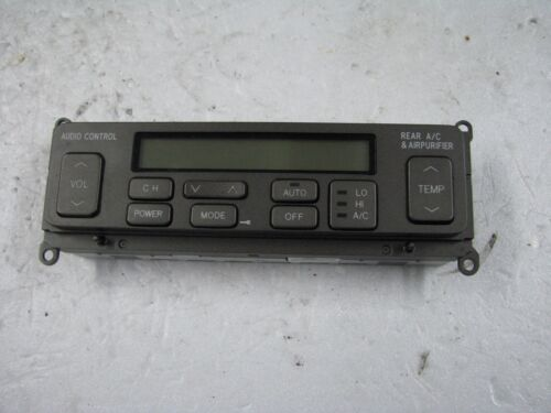 Lexus LS430 rear seat climate and radio control unit, 86170-50110 used 2002
