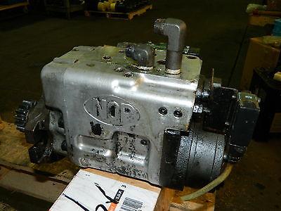 Nippon Gerotor Index Motor, IS-170-2PC-2AL0-HL, w/ Nachi Valves, Used, Warranty