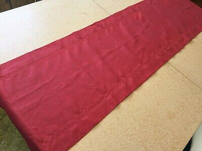 Fieldcrest Luxury Linen Table Runner Rust color 16 x 90""