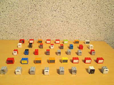 LEGO 40 Schränke,Boxen,Kisten,Safe,Briefkästen*bunter Mix *H034* (Bunte Safe)