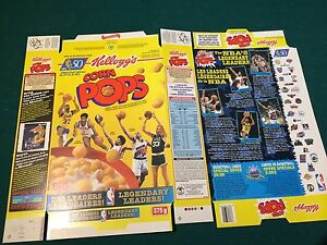 NBA cereal box special pack