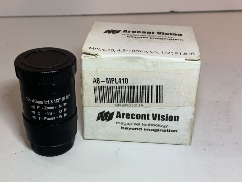 ARECONT VISION MPL4-10 Arecont 4.5-10mm, 1/2in, f1.6, CS-mount