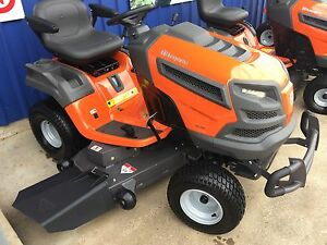 TS348 HUSQVARNA RIDE ON MOWER DIFF LOCK  48 INCH RRP $6299 SAVING Gympie Gympie Area Preview