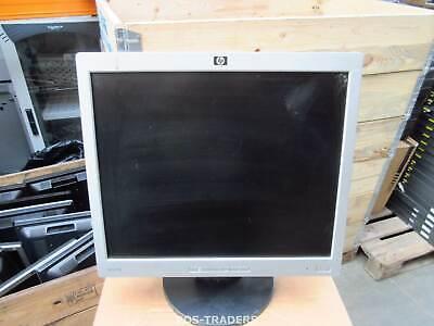 "HP L1706 17"" 43cm 1280x1024 LCD VGA Monitor 5MS D-SUB Monitore Black Silver"