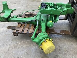 John deere front axle and suspension assembly
