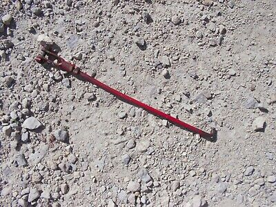 Farmall Super A Tractor Original Ih Throttle Governor Linkage Control Rod W Pin