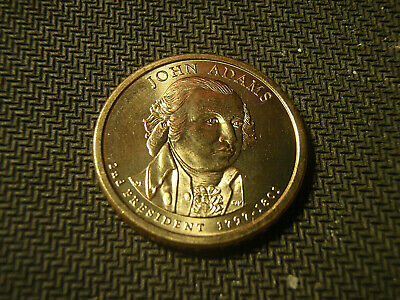 2007-P John Adams Pres. Dollar AU Condition....FREE SHIPPING...