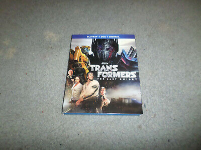 TRANSFORMERS THE LAST KNIGHT BLU-RAY + DVD (DIGITAL EXPIRED)