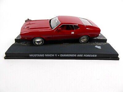 Mustang Mach 1 James Bond 007 Diamonds are Forever - 1:43 Diecast Model Car KY05
