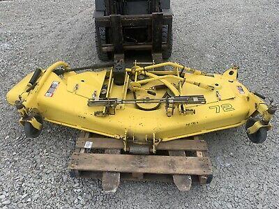John Deere 72 Mid Mount Mower Deck Fits 4500 4600 4700 Tractors Lv0072b 72 Inch