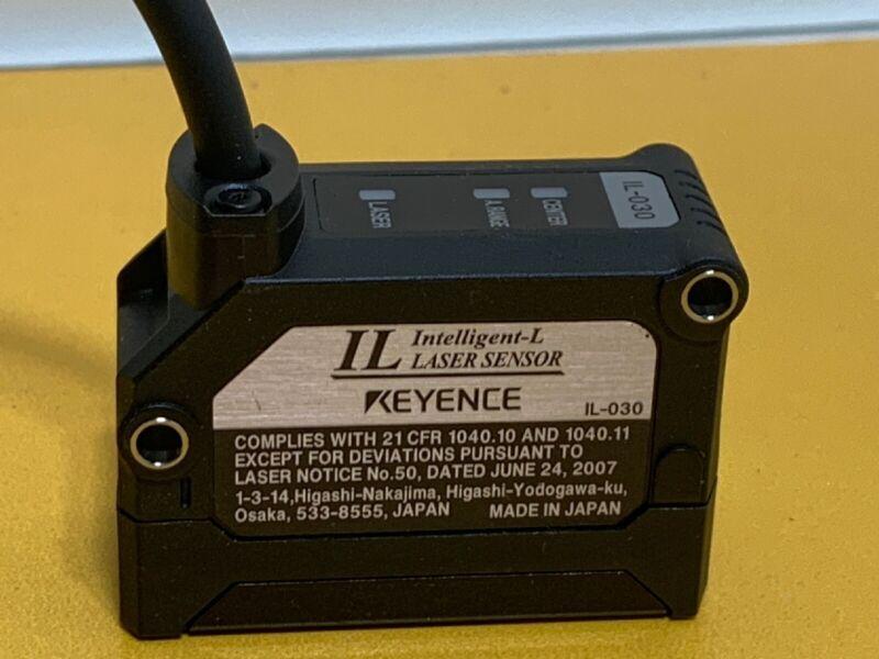 Used Keyence IL-030 #FP