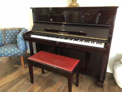 Alex Steinbach Upright Piano with matching piano stool Robina Gold Coast South Preview