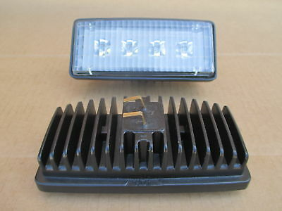 2 Led Headlights For John Deere Light Jd 6300 6310 6400 6410 6506 6510 6600 6610
