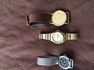 Men's and lady's watches