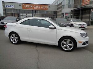 2014 Volkswagen Eos Comfortline|LEATHER|GLASS-ROOF|TURBO|CONVERT