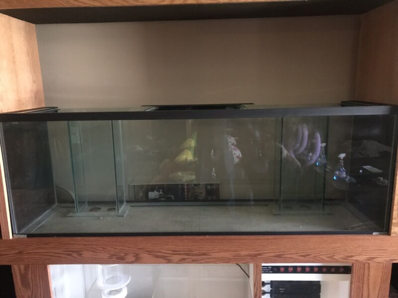 140 Gallon Reef Aquarium with stand,sump, skimmer all brand new.