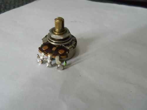 Vintage 1964 Stratocaster 250K Potentiometer Pot CTS Crater Bottom Rare 137 6412