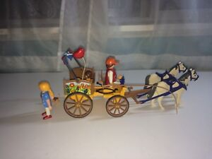 Playmobil horse carriage and farm