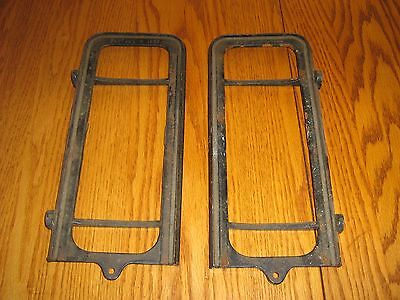ANTIQUE DOMESTIC  SEWING MACHINE DRAWER FRAMES-PAT.AUG.9-1887