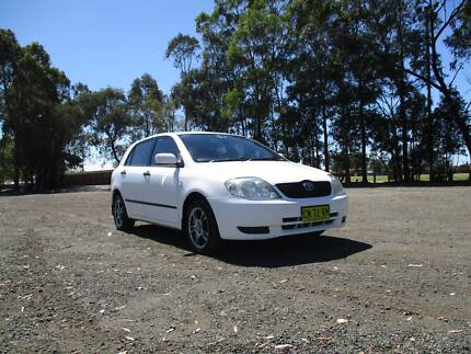 Toyota Corolla 2001 Hatch Auto 1.8Ltr $5000Neg or make an offer