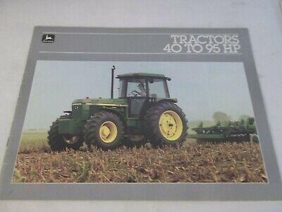John Deere Models 2150 2350 2550 2750 2950 3150 Tractor Brochure