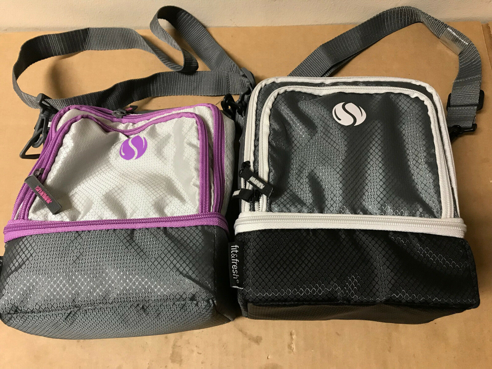 Fit & Fresh Small Cooler Bag & Lunch Box, Insulated with Adj