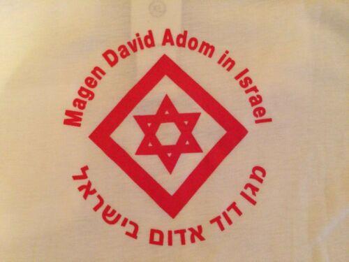POLO MAGEN DAVID ADOM Israel Red Cross Medic Uniform XL Original New HTF Rarity