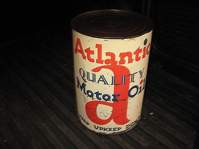 Atlantic 5 Quart Full Can of Motor Oil