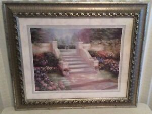 Moving sale! Luxurious rich wall decor art picture fancy frame.