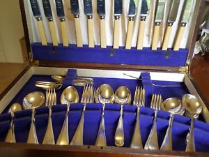 Cutlery set bone Handel knives Sheffield Mitcham Whitehorse Area Preview