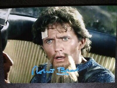 ROBERT BROWN As LAZARUS Hand Signed Autograph 4X6 PHOTO  CAPT KIRK - STAR TREK
