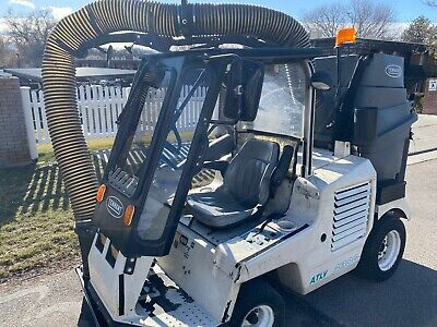 Tennant Atlv 4300 All Terrain Litter Leaf Vacuum Compact Parking Lot Sweeper